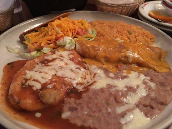Stratford, CT: Taco, Chili Releno, and Enchilada