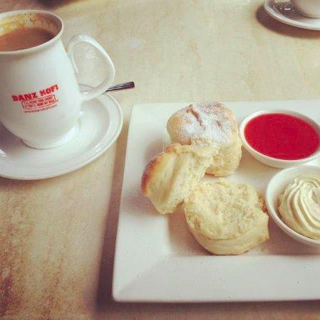 Mount Hagen, Papua New Guinea: Freshly baked scones - aah!