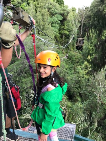 Rotorua Canopy Tours: Exciting zip line experience that even young ones can enjoy