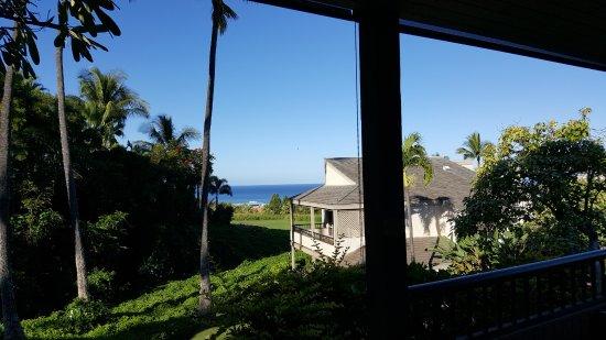 Wailea Ekolu Village Resort: view from the kitchen, dining room, living room area