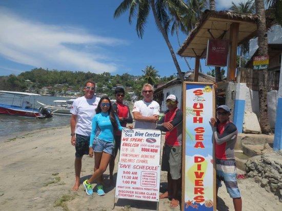 Sabang, Filipinler: Dive Team