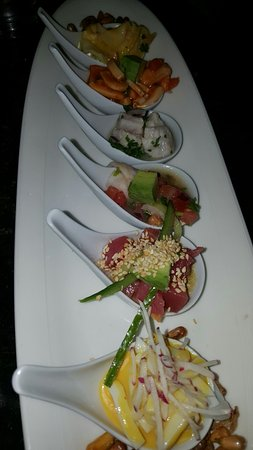 Jaguar Ceviche Spoon Bar and Latin Grill: закуски