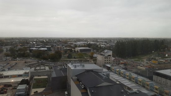 Novotel Christchurch Cathedral Square Hotel: View from Level 13