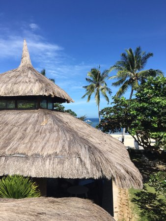 The Ananyana Beach Resort & Spa: The Ananyana Thatched Roofs, Doljo, Bohol