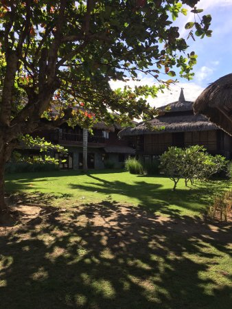 The Ananyana Beach Resort & Spa: The Ananyana Gardens in front of the Guest Rooms