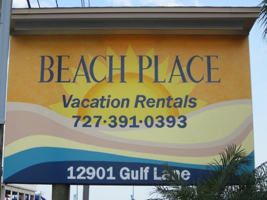 Beach Place Condos at John's Pass Village: Beach Place...lovely.