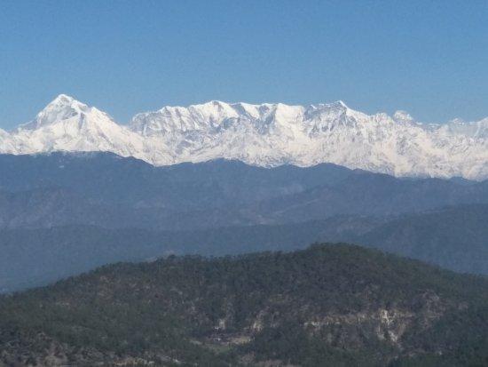 Himalaya mount view resort kausani indien omd men och for Mt vista cabina e motel