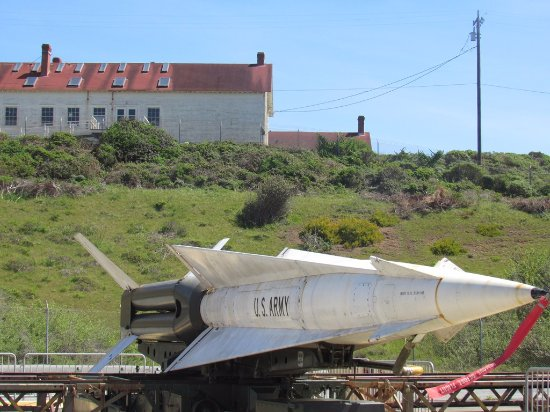 Nike Missile Site SF-88 : The missile launch demonstration