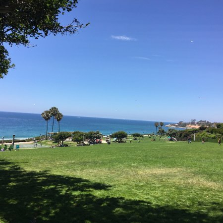 Dana Point, Californië: Park Area Above the Beach