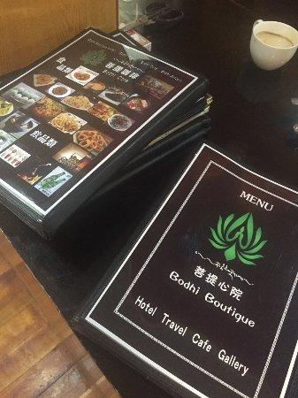 Bodhi Restaurant Menu