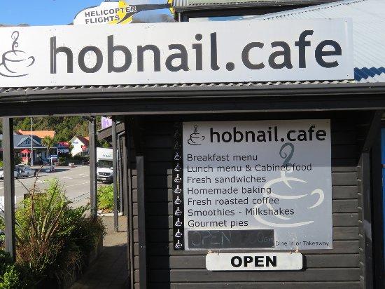 Hobnail Cafe: Eat in or take away