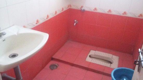 Rainbow Residency: washroom of room number 118