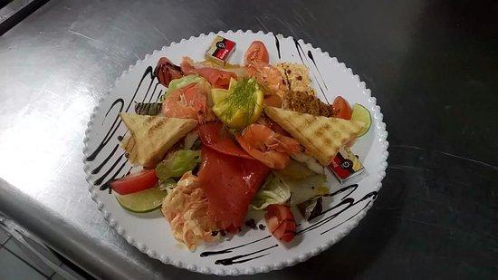 LA COTRILLADE : notre salade du bord de mer