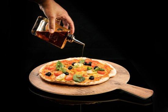 Payerne, Sveits: Nos pizzas maison