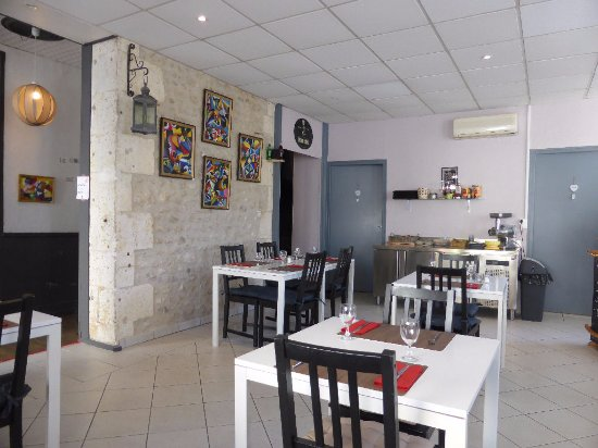 Montmoreau-Saint-Cybard, Frankrijk: salle de la Gourmandise