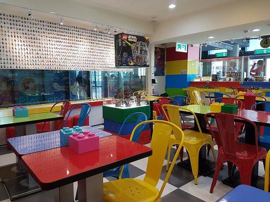 Image result for bricks works lego cafe
