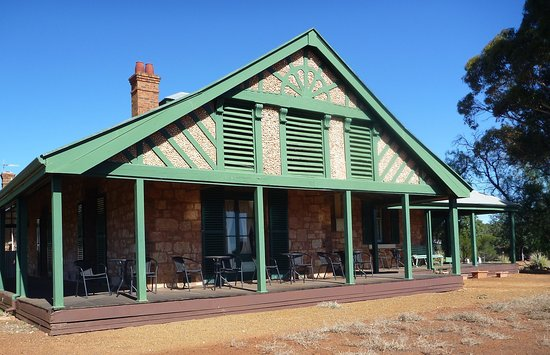 Warden Finnerty's Residence, Coolgardie - front