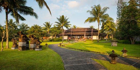 The Chedi Club Tanah Gajah, Ubud, Bali – a GHM hotel: Main entrance - Lobby