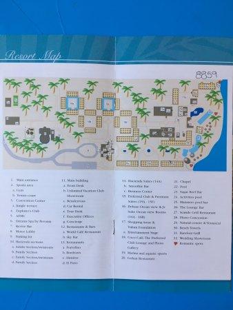 Plan du resort - Picture of Dreams Tulum Resort & Spa, Tulum ... Dreams Tulum Map on