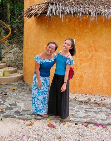 Coco Grove Beach Resort: Så smilende er personalet altid.