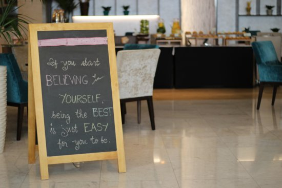 We Inspire Our Guests With Quotes Of The Day Picture Of Ghinwa