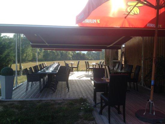 terrasse ombragee - Picture of la galoche, Beaulieu - TripAdvisor