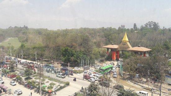 Summit Residency: Kathmandu Airport Main entrance can be seen