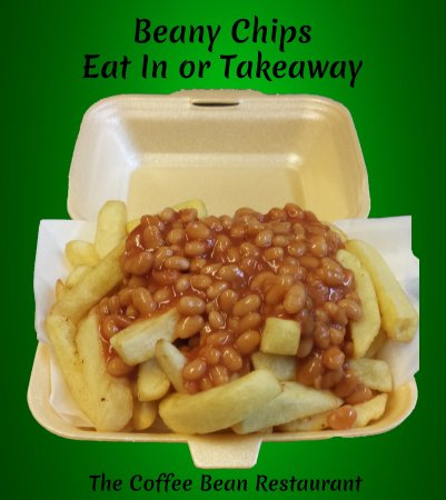Beany Chips Available To Eat In Or Takeaway Most Of Our Menu Is Available As A Takeaway Picture Of Coffee Bean Restaurant The Helston Tripadvisor
