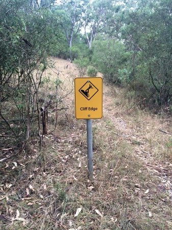 Scone, Australia: Thought this sign was funny on the walk...!