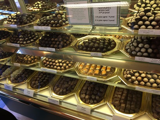 Skaneateles, NY: Vermont Green Mountain Specialists Co - truffles in case