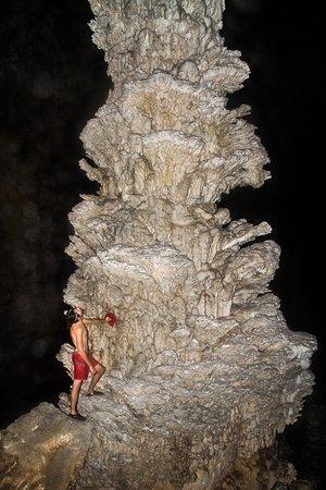 Stalagmites are huge