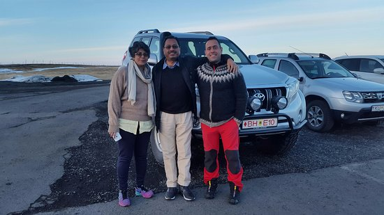Iceland Luxury Tours: With our wonderful guide David