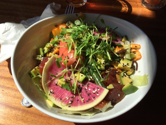 Skaneateles, État de New York : Blue Water Grill - my Poke Bowl