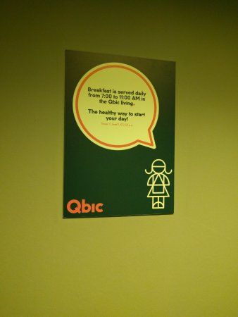 Qbic Hotel Amsterdam WTC: hall
