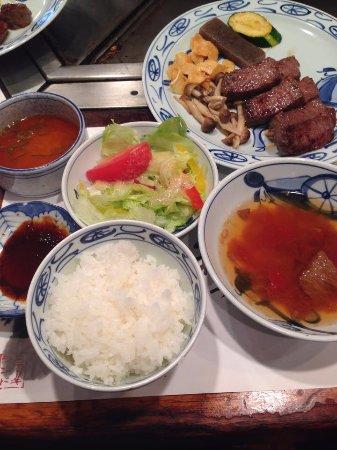 3e96169f27c0 Lunch set menu - Picture of Steakland Kobe
