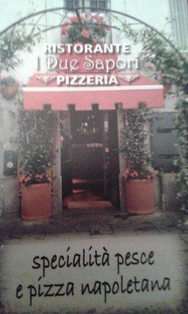 Ristorante Pizzeria 2 Sapor: Bigliettino da visita