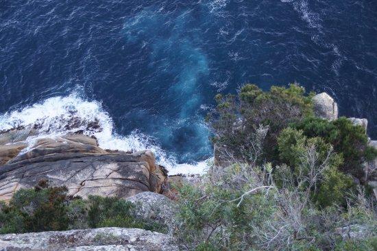 Freycinet, Australia: Granite cliffs