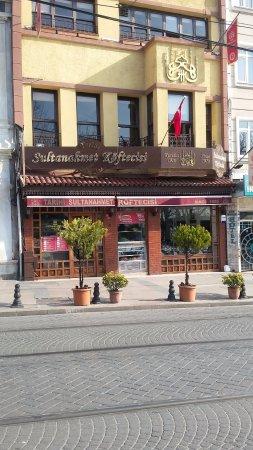 Sultanahmet Koftecisi: фасад кафе