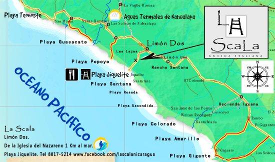 Tola, Nicaragua: como encontrarnos