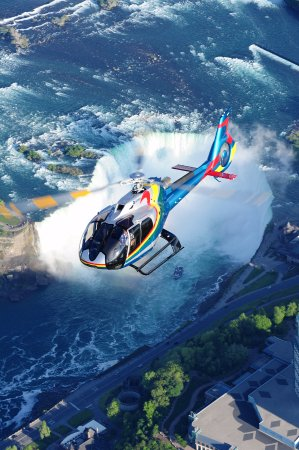 Niagara Helicopters: Below, beside, above and BEYOND