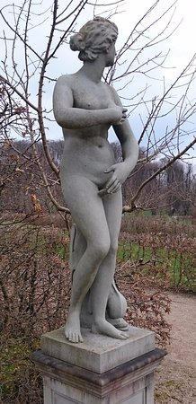 Holte, Danmark: One of the beautiful sculptures in the garden