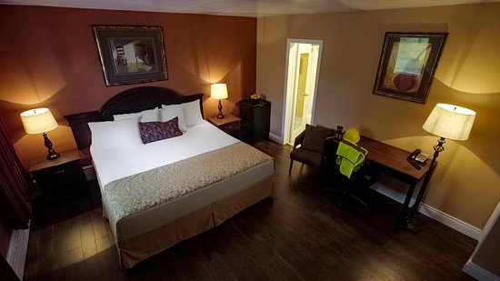 Port Hawkesbury, Canadá: Single King guest room