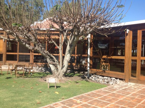 Days Inn Casa Del Sol Colonia: Piscina exterior y cancha de futbol