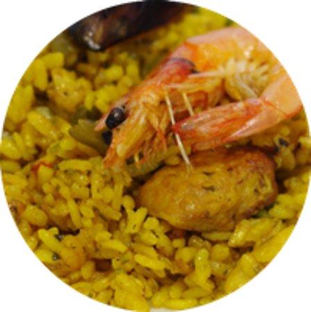 Costa Dorada, Spain: paella mixta