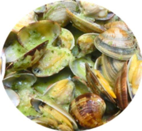 Costa Dorada, Spain: almejas a la marinera