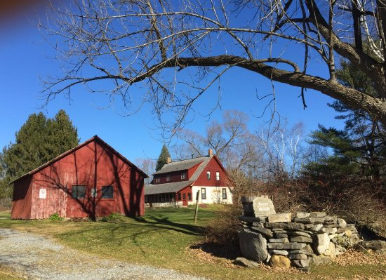 Shaftsbury, VT: Robert Frost Stone House and Barn