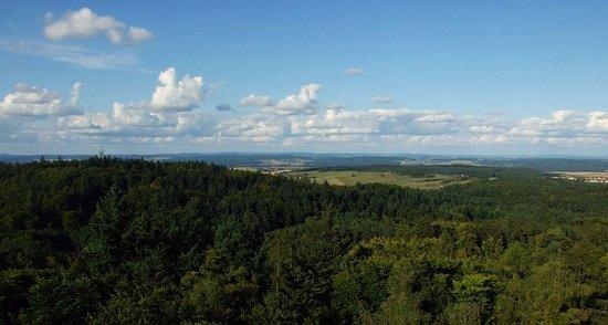 Pisek, Czech Republic: pohled z Jarníku