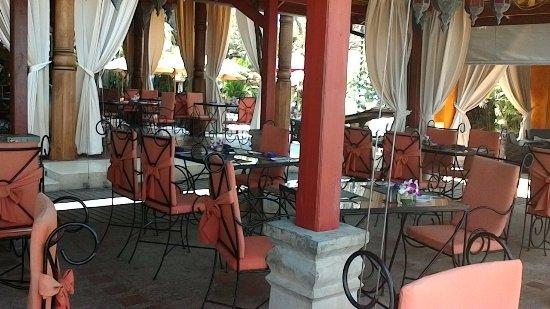 Zazen Restaurant: La salle de restaurant