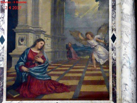 Cattedrale di San Pietro Apostolo: Annunciazione