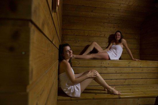 Caleden Complexe Thermale et Thermoludique de Chaudes Aigues : Espace thermoludique Sauna